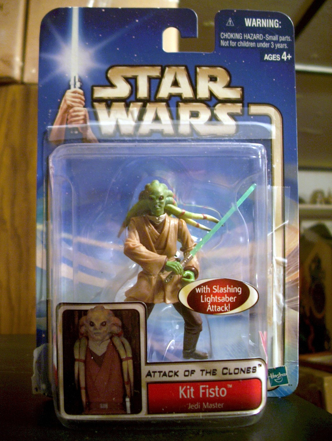 Kit Fisto - Jedi Master with Force Action!