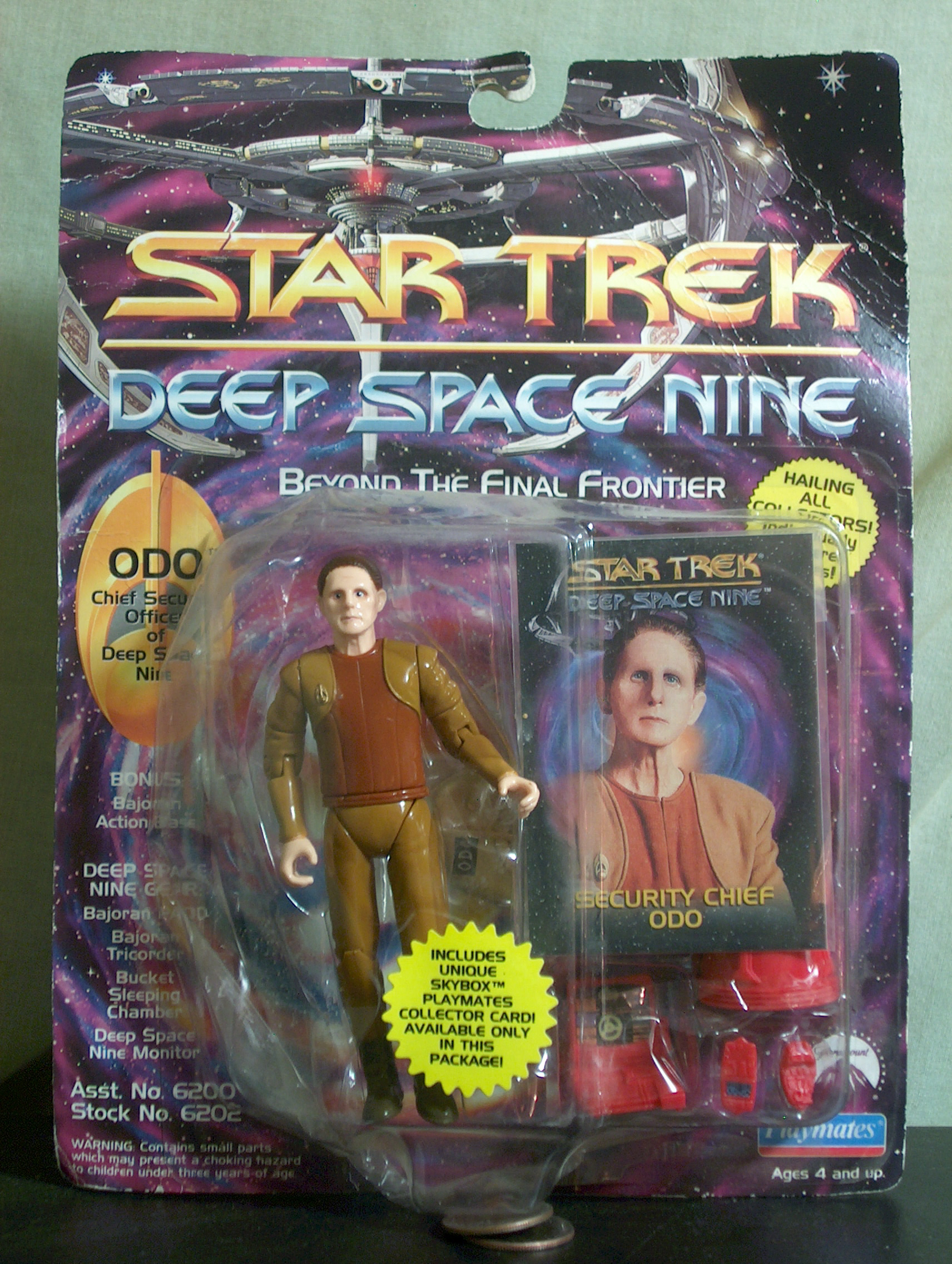 Odo Chief Security Officer of Deep Space Nine