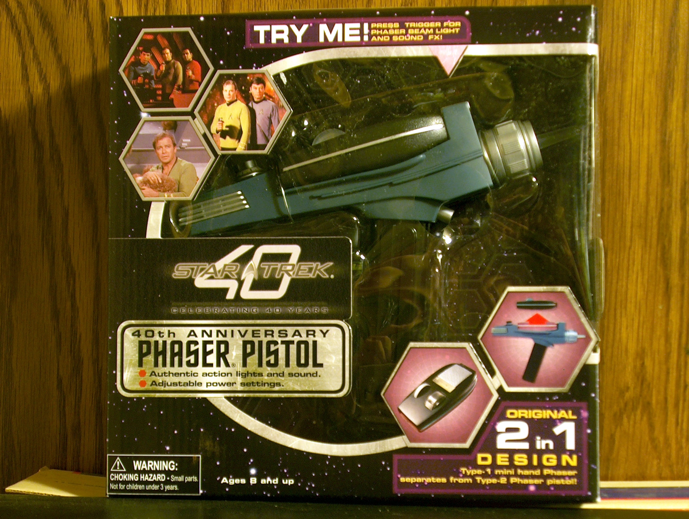 Phaser Pistol-40th Anniversary