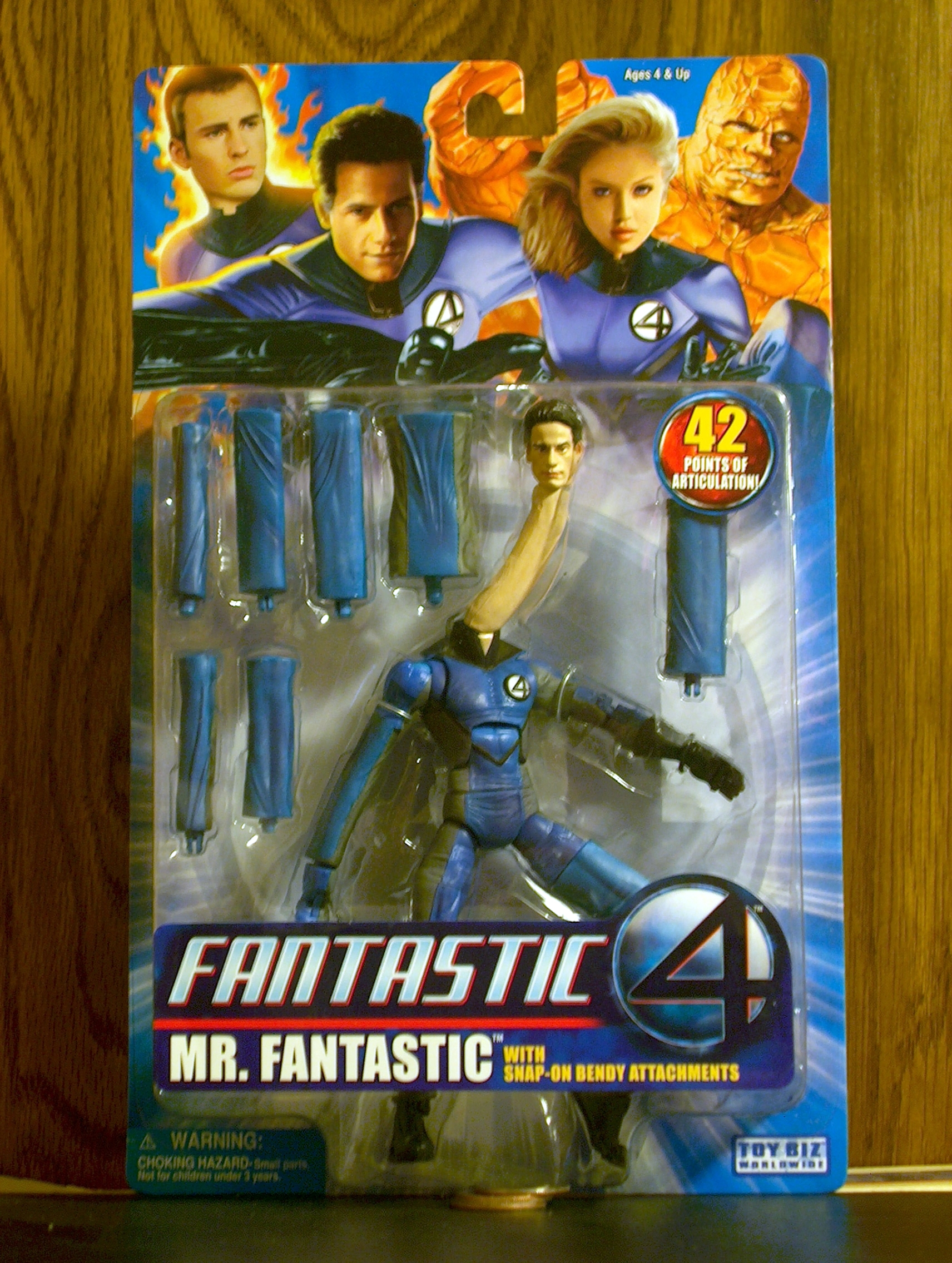 Fantastic Four (Movie) Mr. Fantastic (Bendy Attachments)