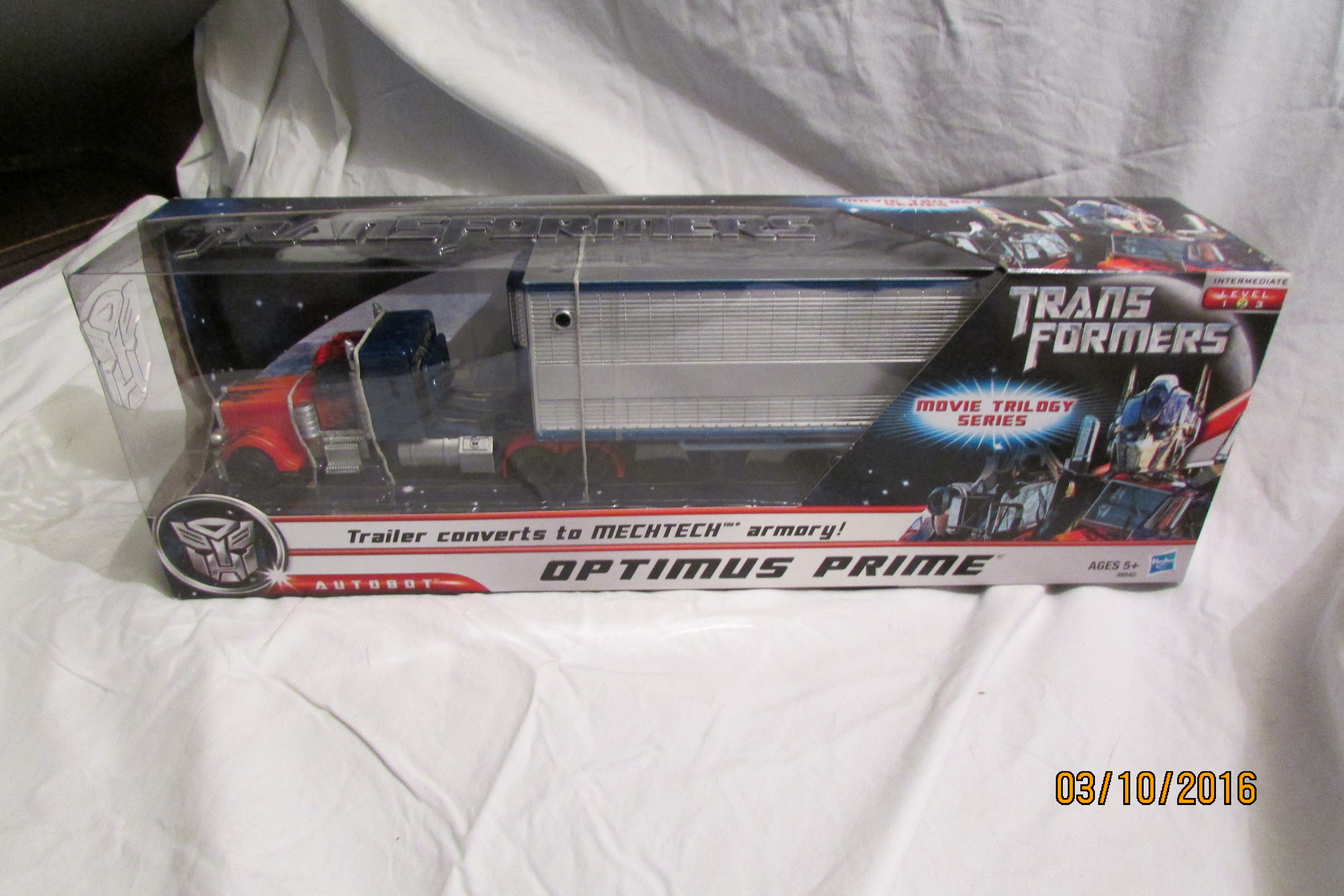 All Star Optimus Prime w/ Trailer