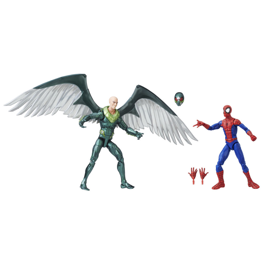 Exclusive Spiderman & Vulture 2pack