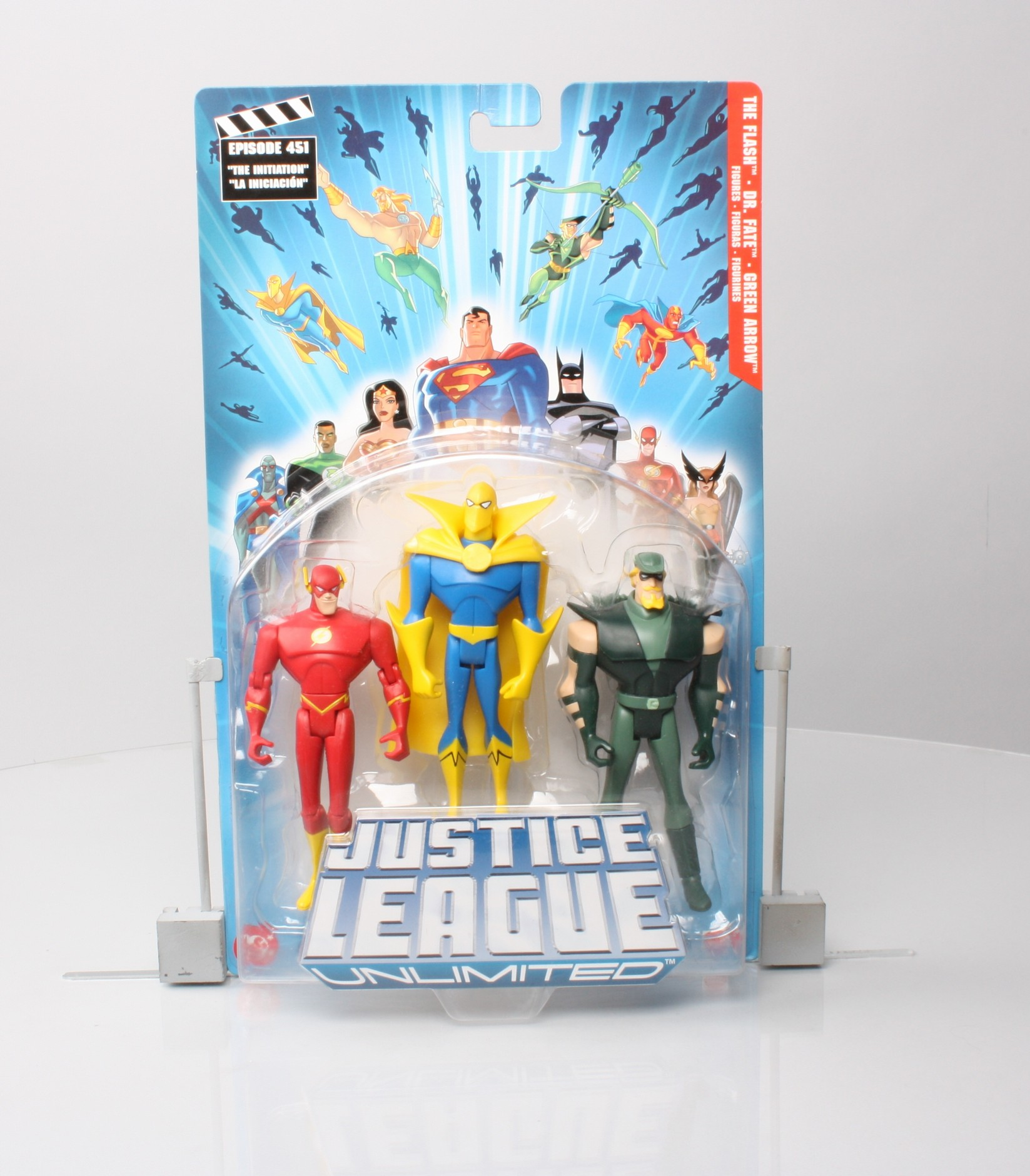 The Flash - Dr. Fate - Green Arrow (3-Pack)