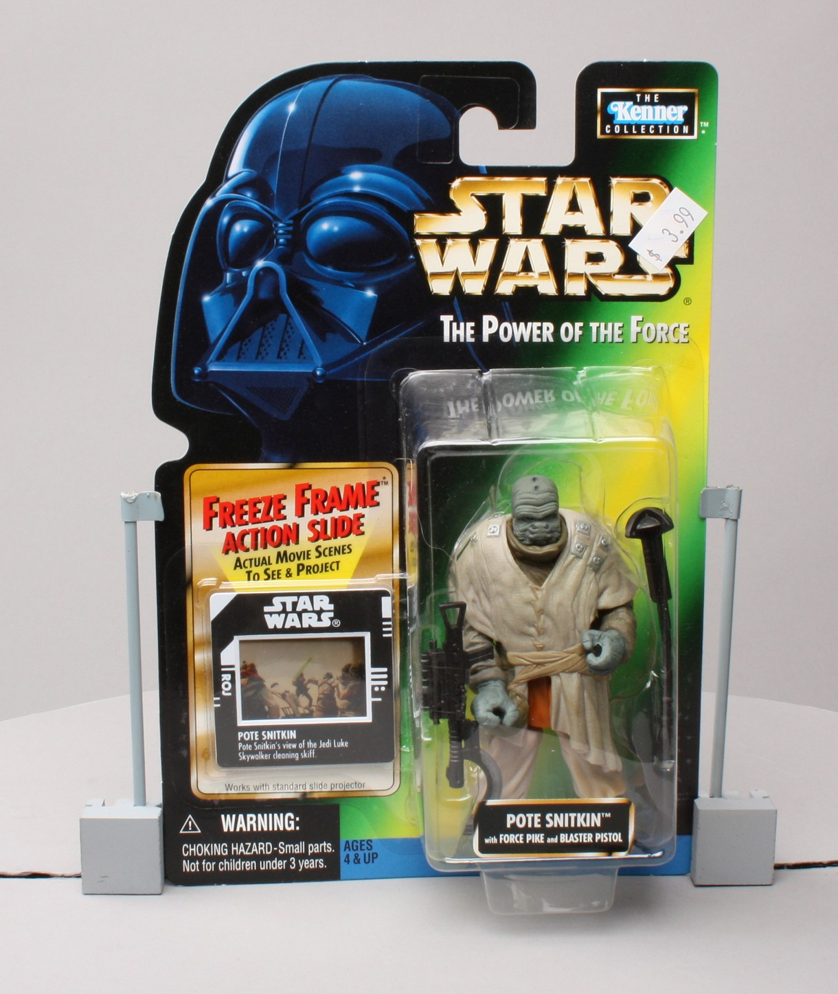 Pote Snitkin with Force Pike and Blaster Pistol