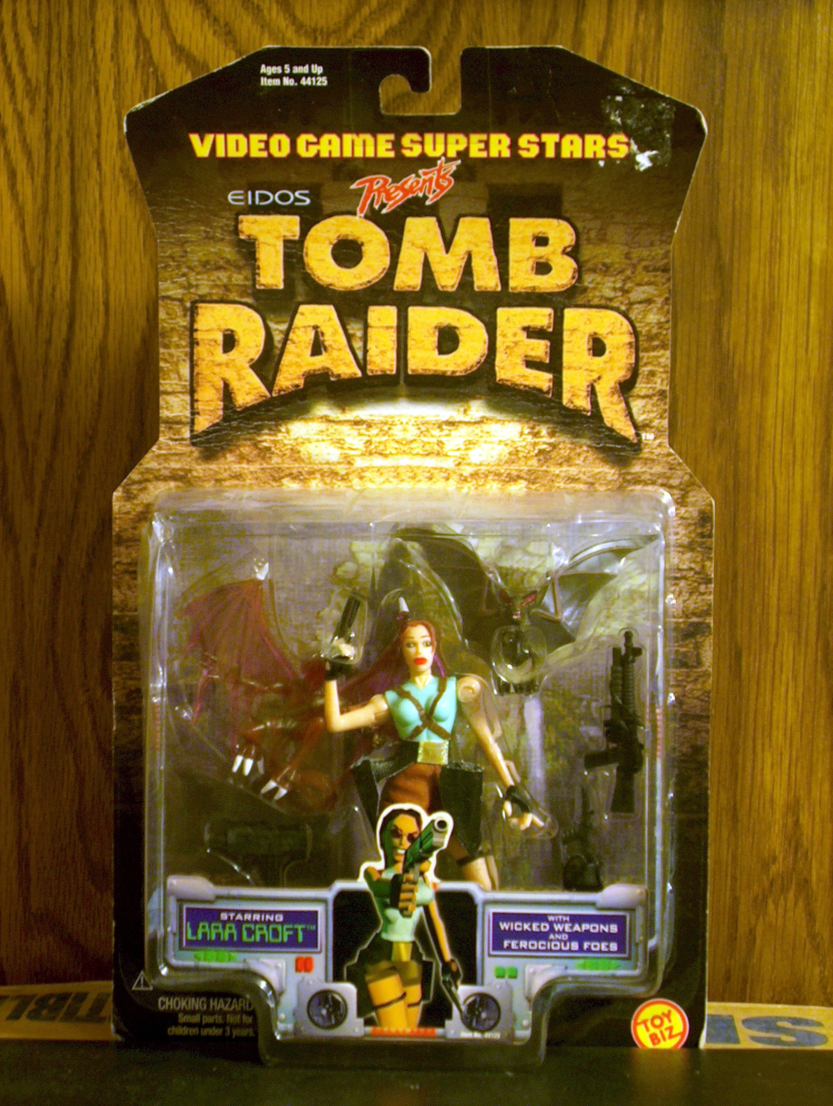 Lara Croft (with Wicked Weapons and Ferocious Foes)
