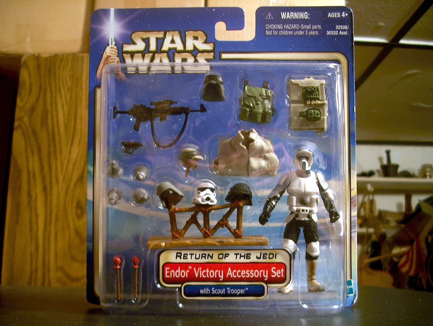 Endor Victory Accessory Set with Scout Trooper