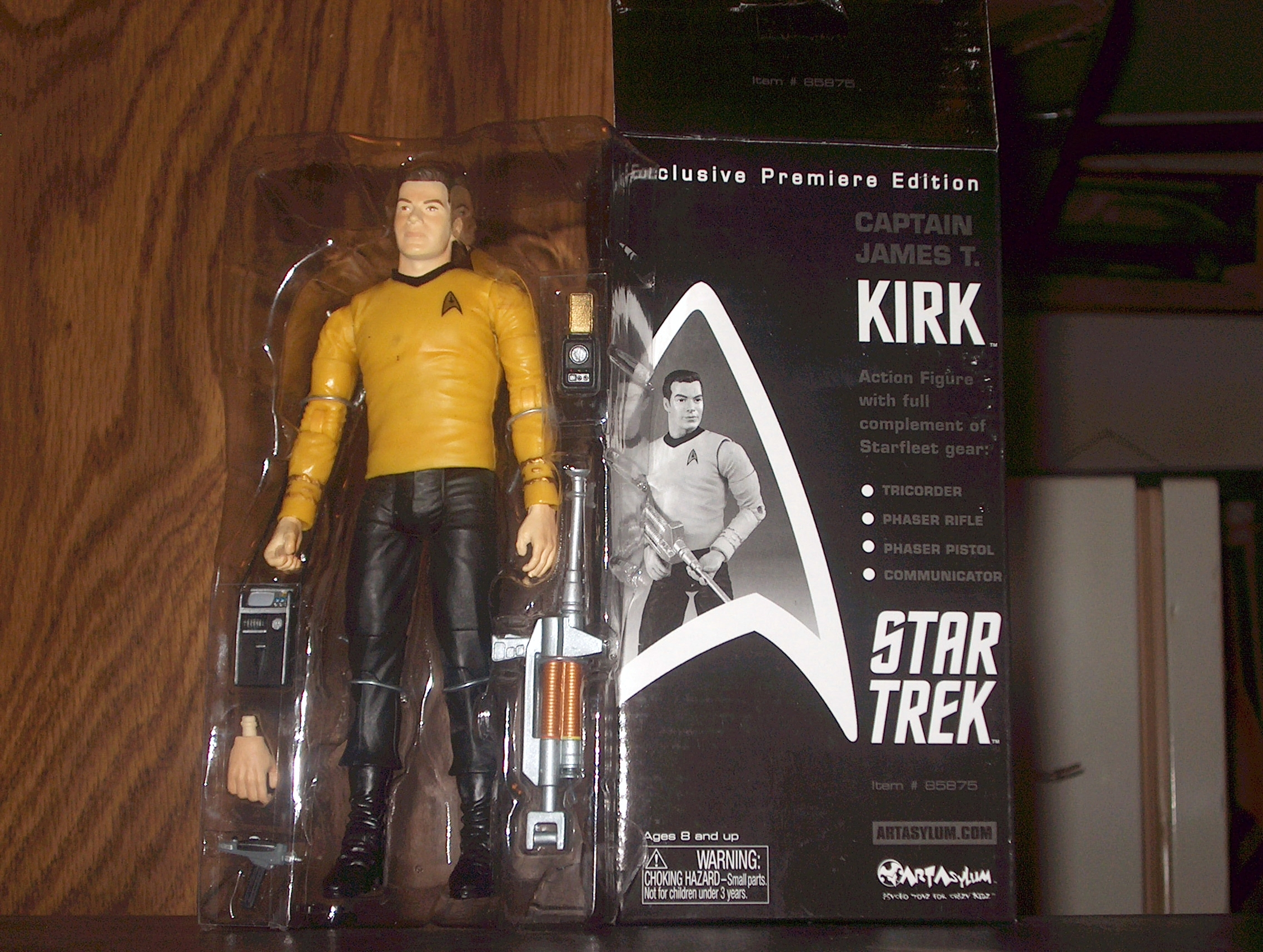 Captain James T. Kirk-Exclusive Premiere Edition