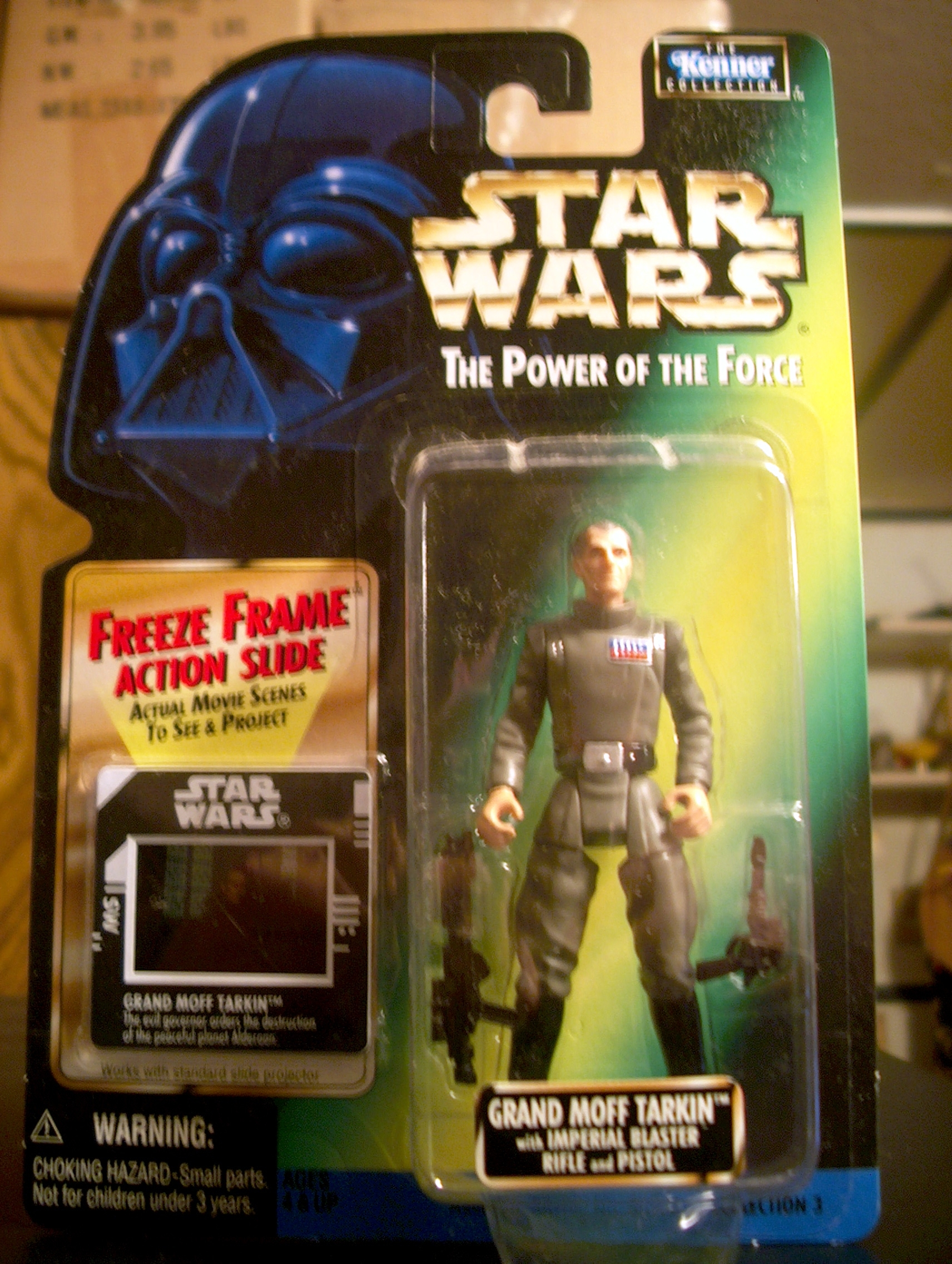 Grand Moff Tarkin with Imperial Blaster Rifle and Pistol