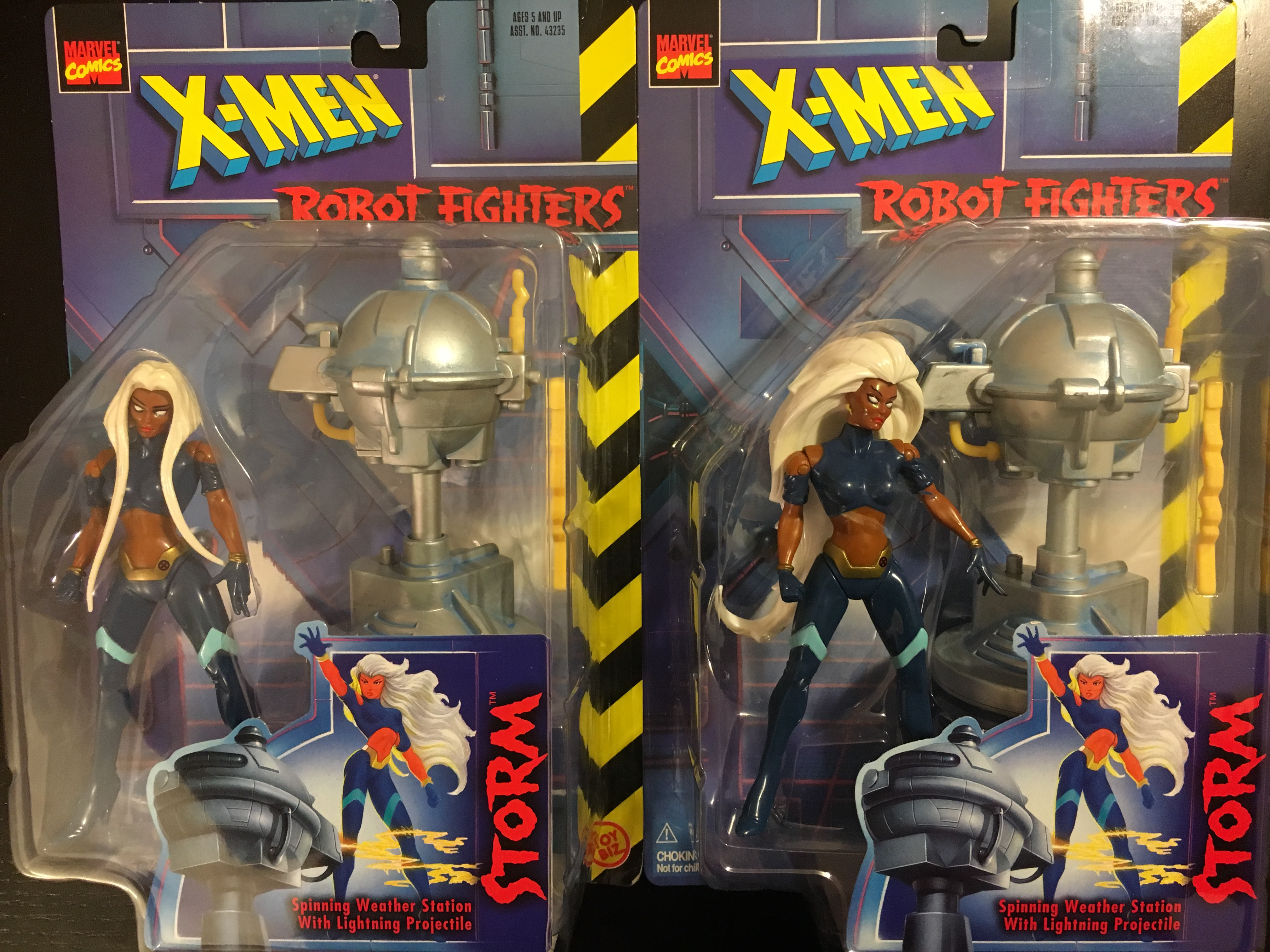 X-Men Robot Fighters - Storm (RARE Storm with Different Hair)  Toy Biz, Inc. 035112432371
