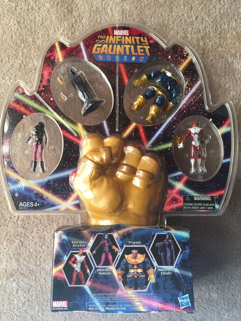 SDCC The Infinity Gauntlet 4-Pack  Hasbro