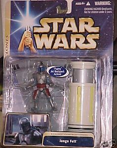 Jango Fett (Kamino Confrontation) (Attack of the Clones packaging)