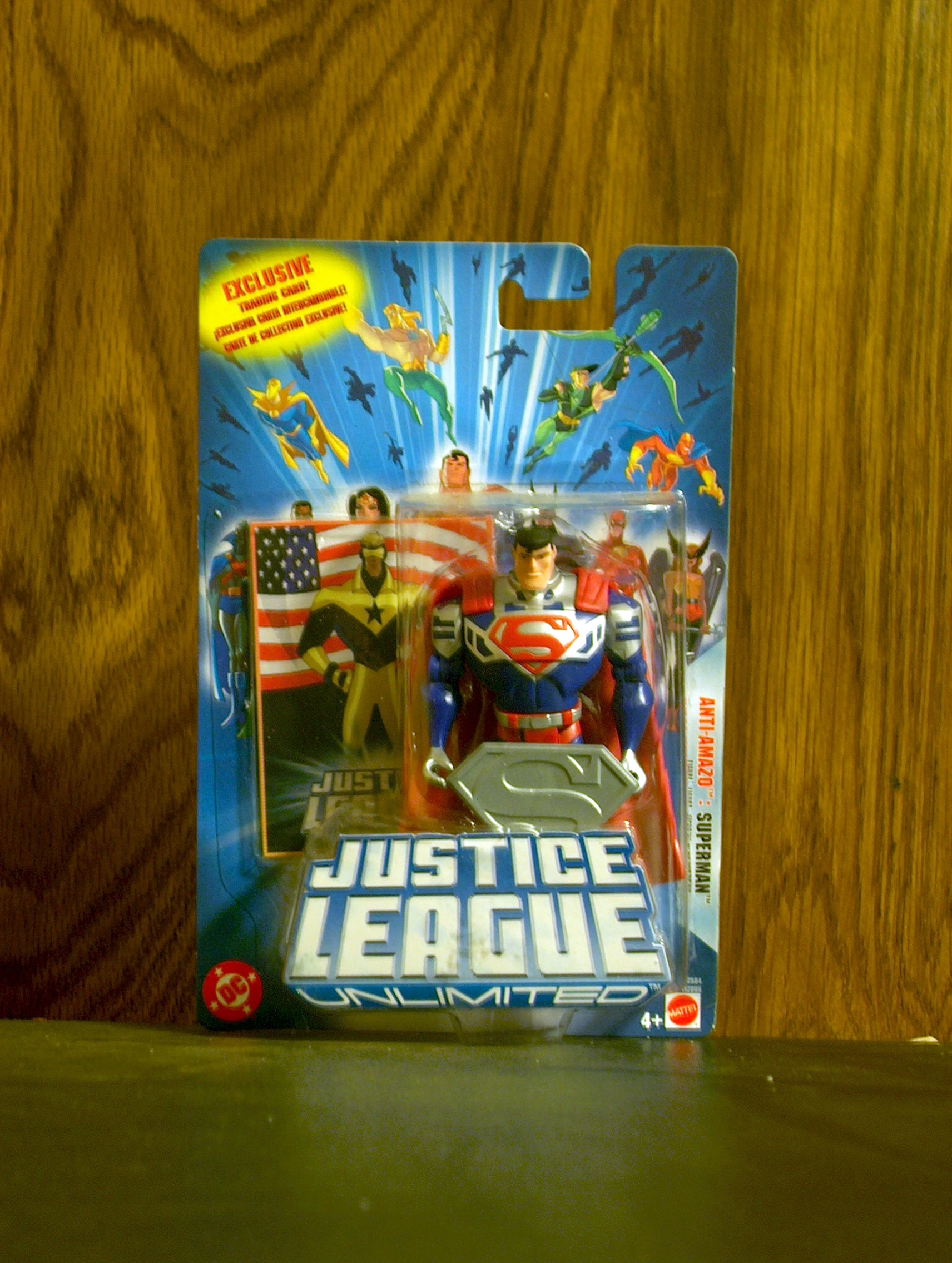 Justice League Unlimited Anti-Amazo: Superman