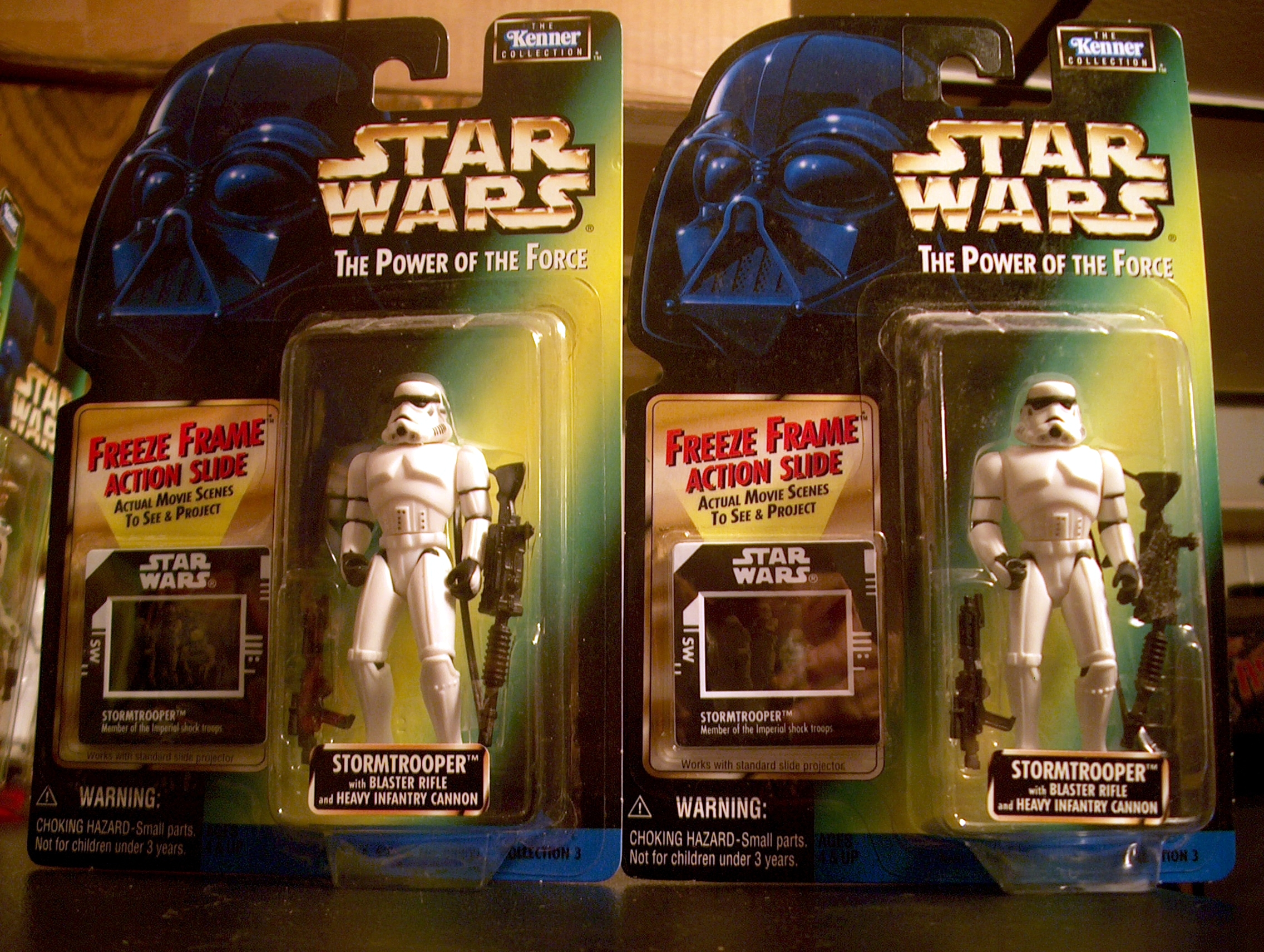 Stormtrooper with Blaster Rifle and Heavy Infantry Cannon