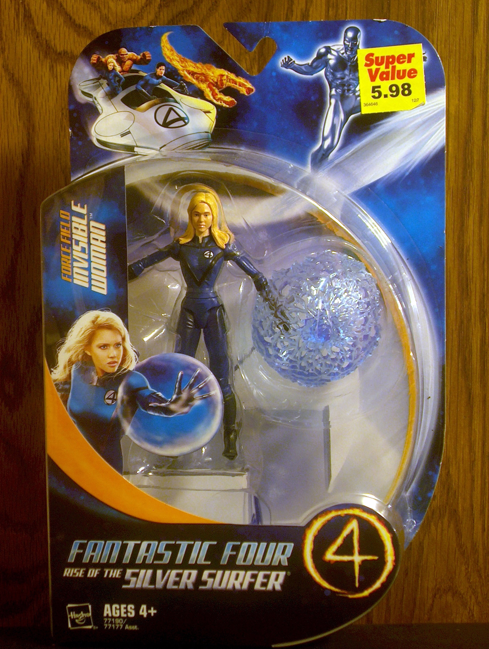 Force Field Invisible Woman