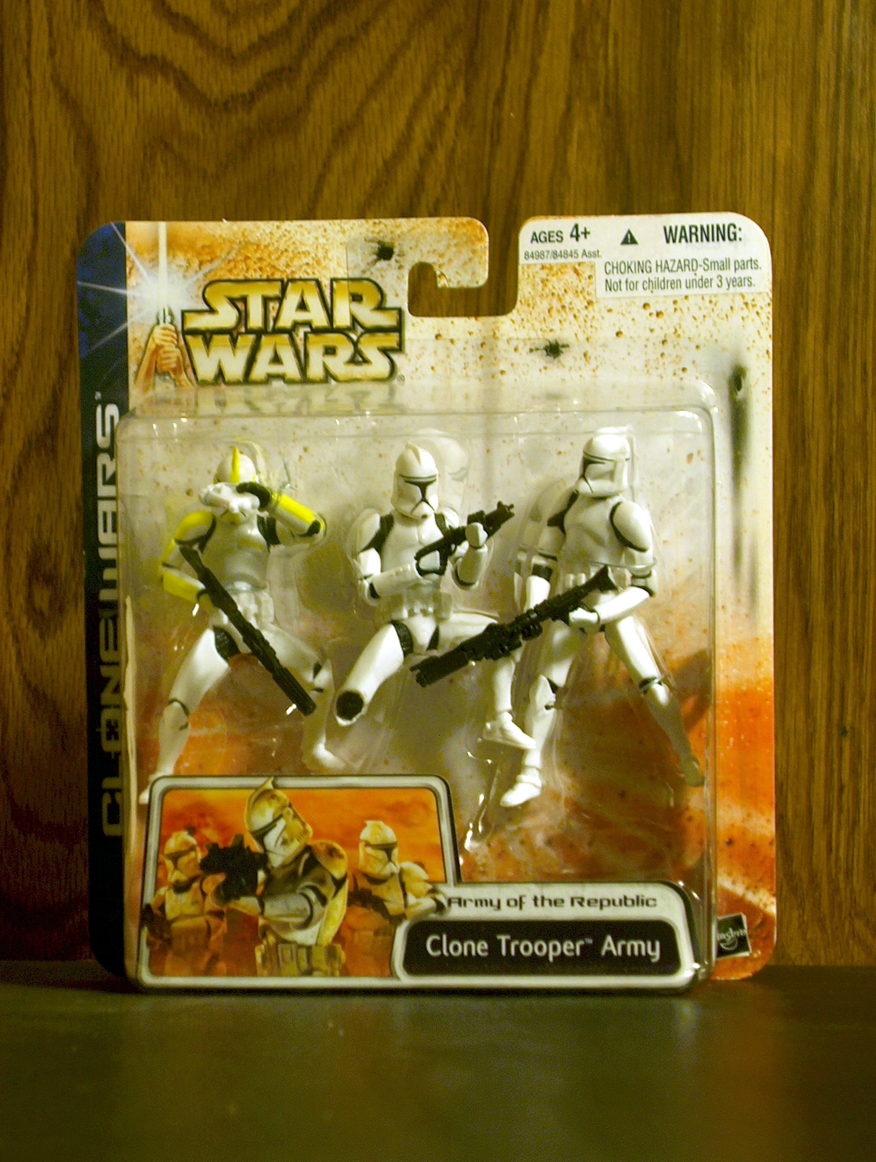Clone Trooper Army (Yellow) (3-Pack)