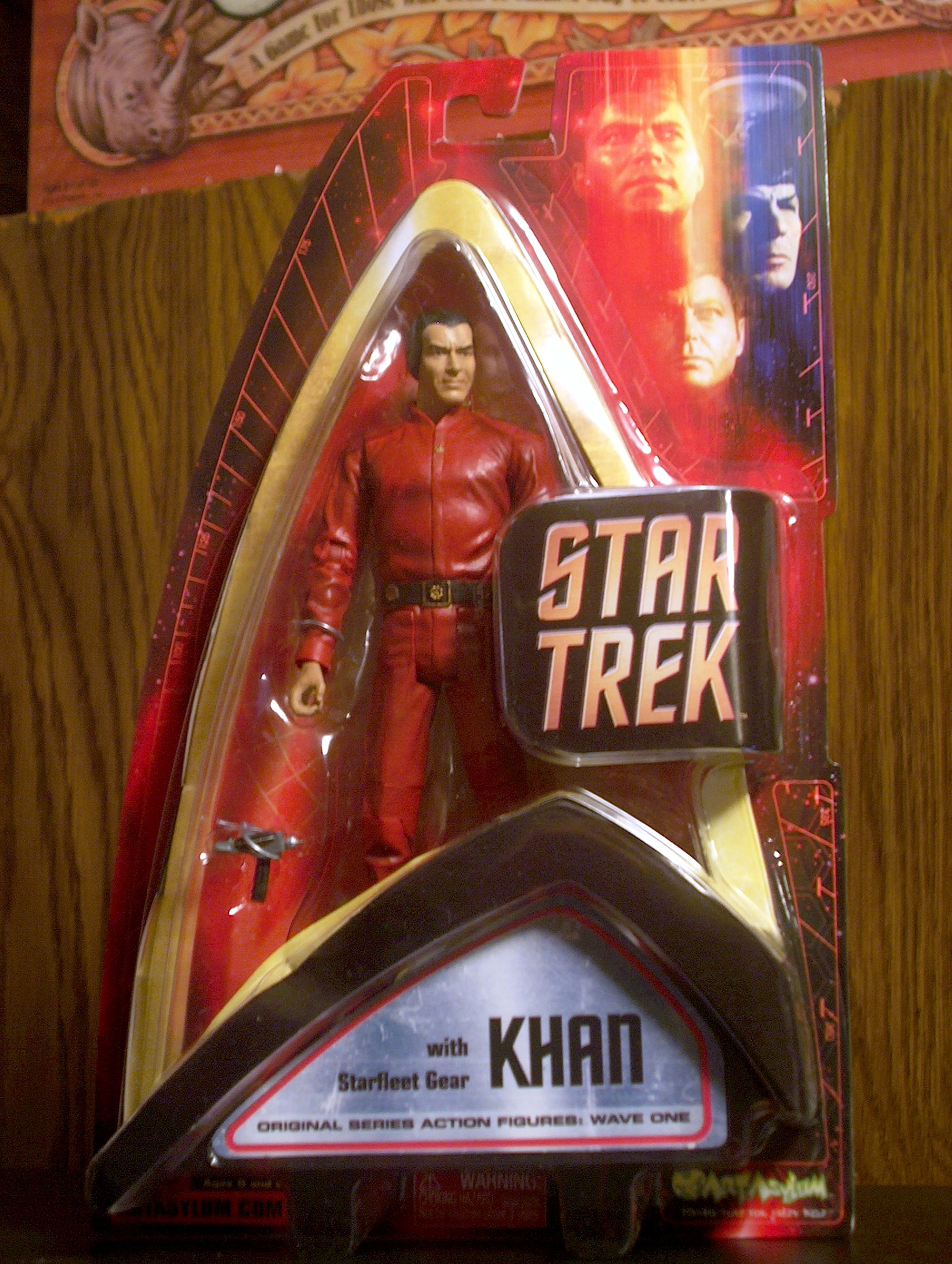 Khan with Starfleet Gear