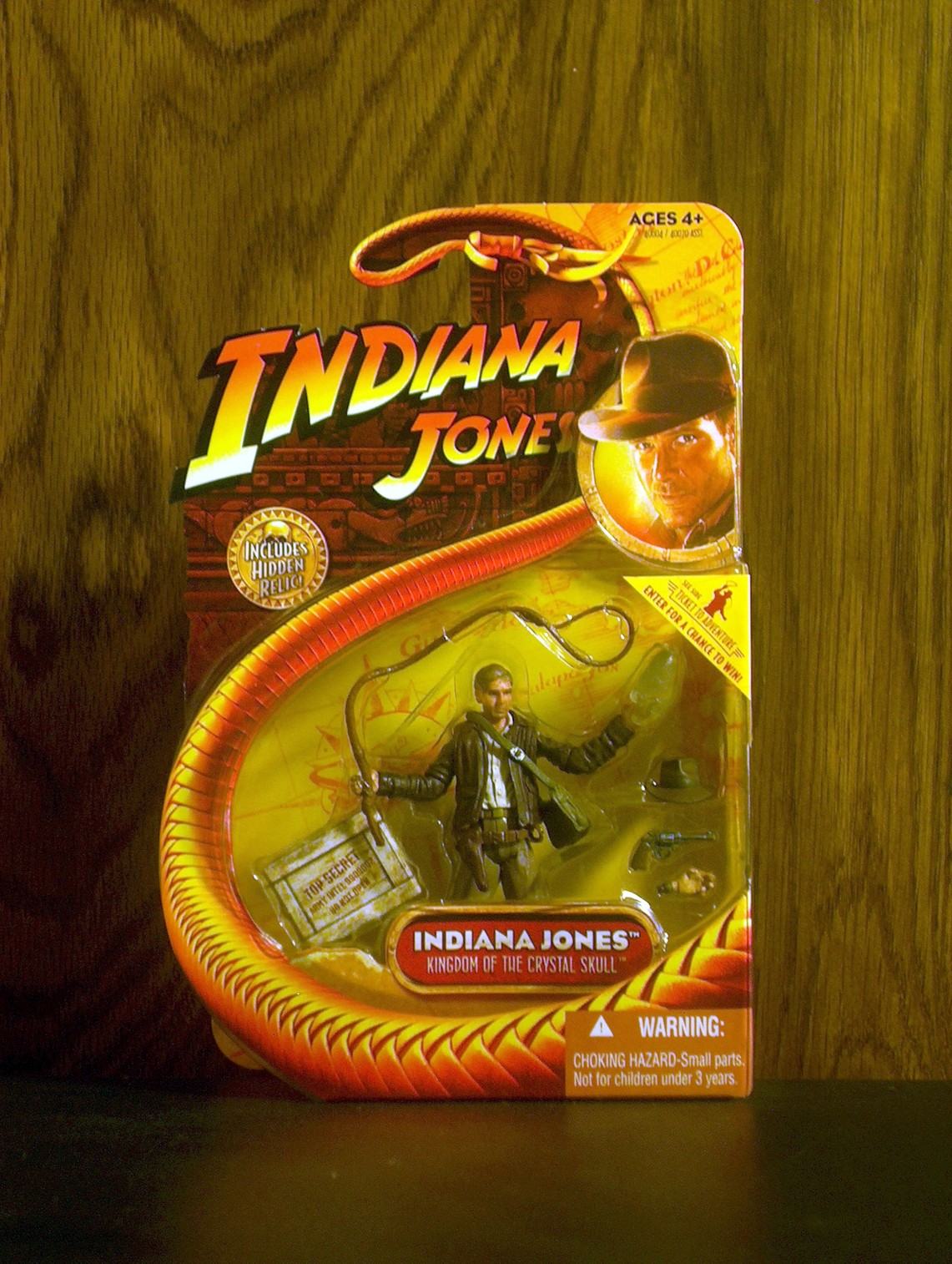 Indiana Jones (with crystal skull)