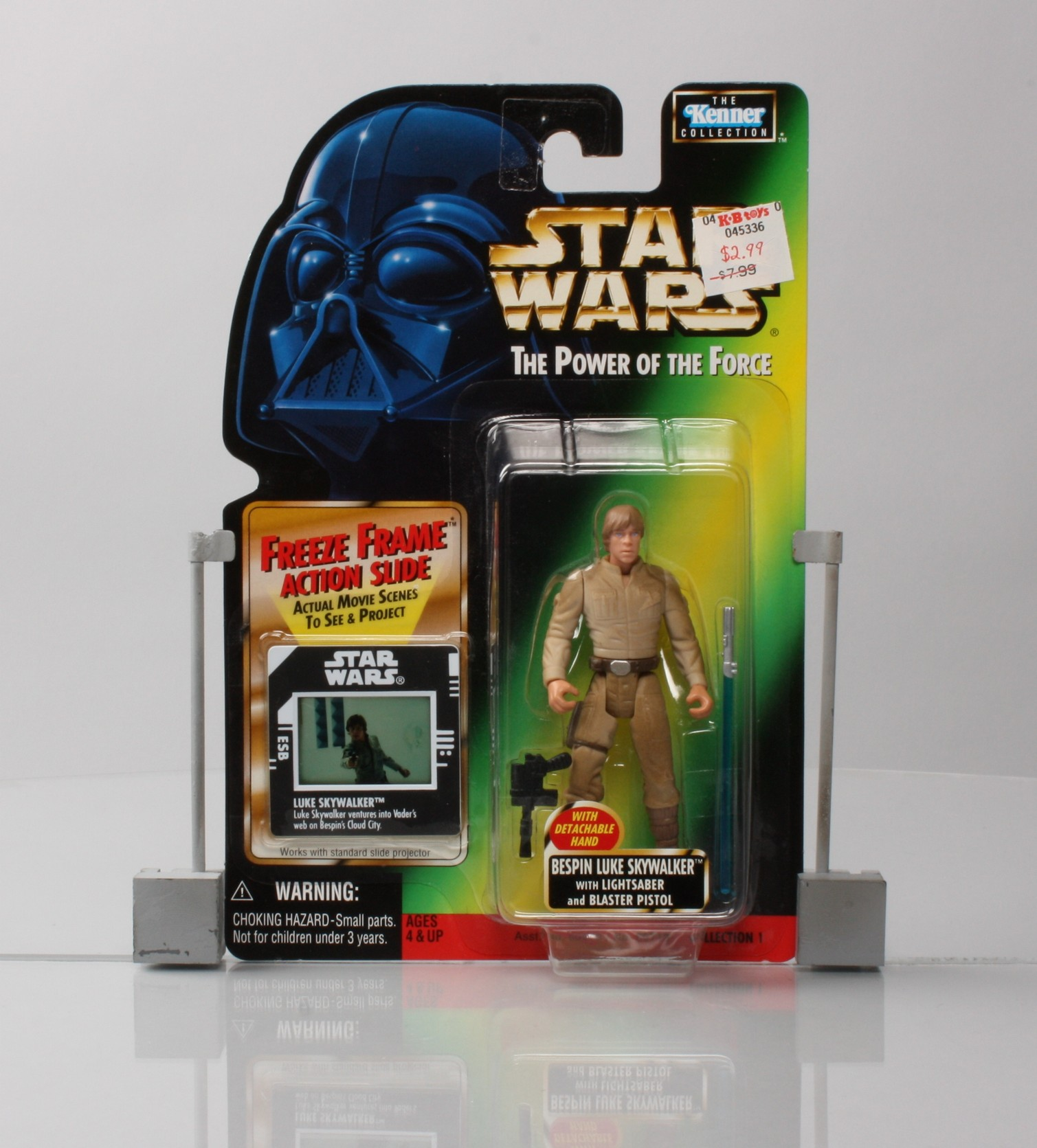 Bespin Luke Skywalker with Lightsaber and Blaster Pistol - With Detachable Hand (.01)