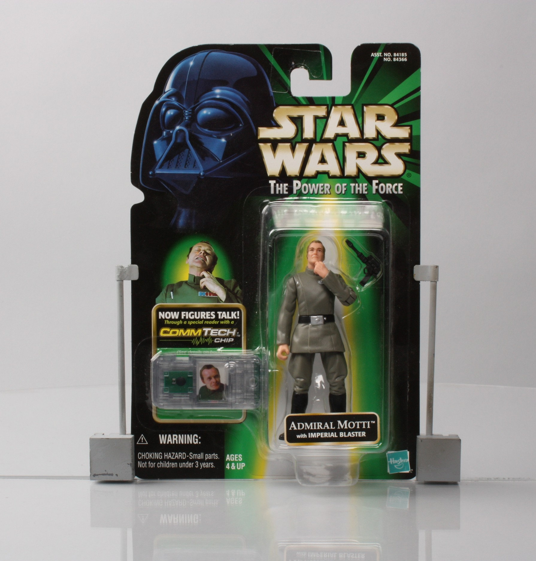 Admiral Motti with Imperial Blaster