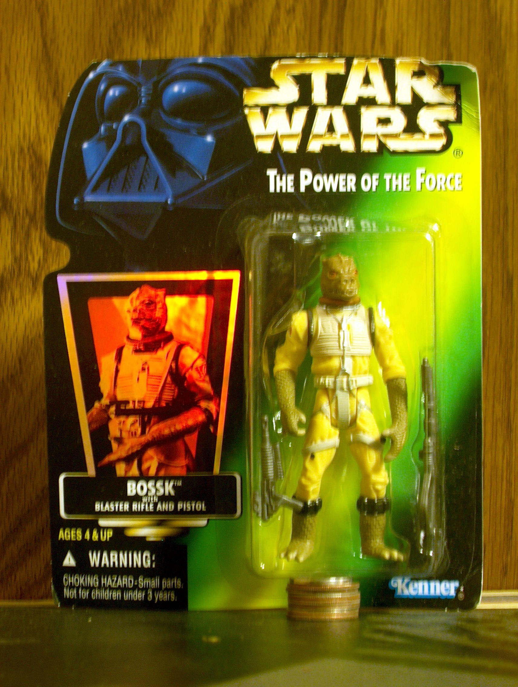 Bossk with Blaster Rifle and Pistol