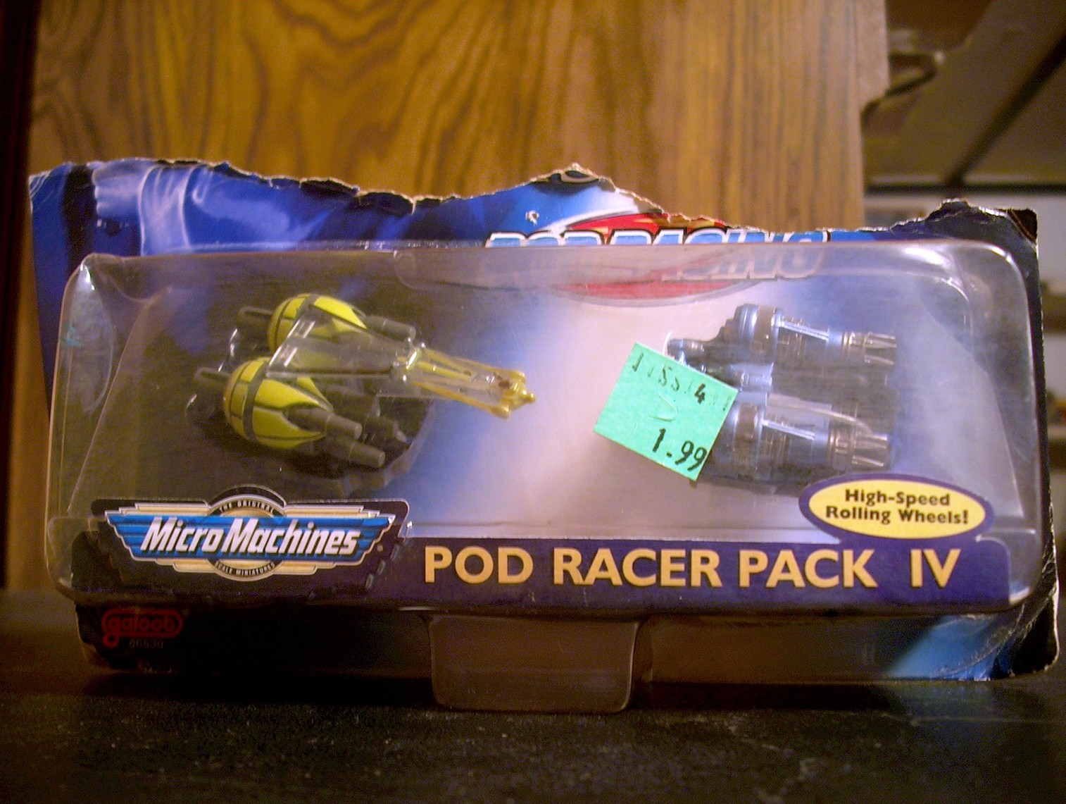 Micro Machines Pod Racer Pack IV