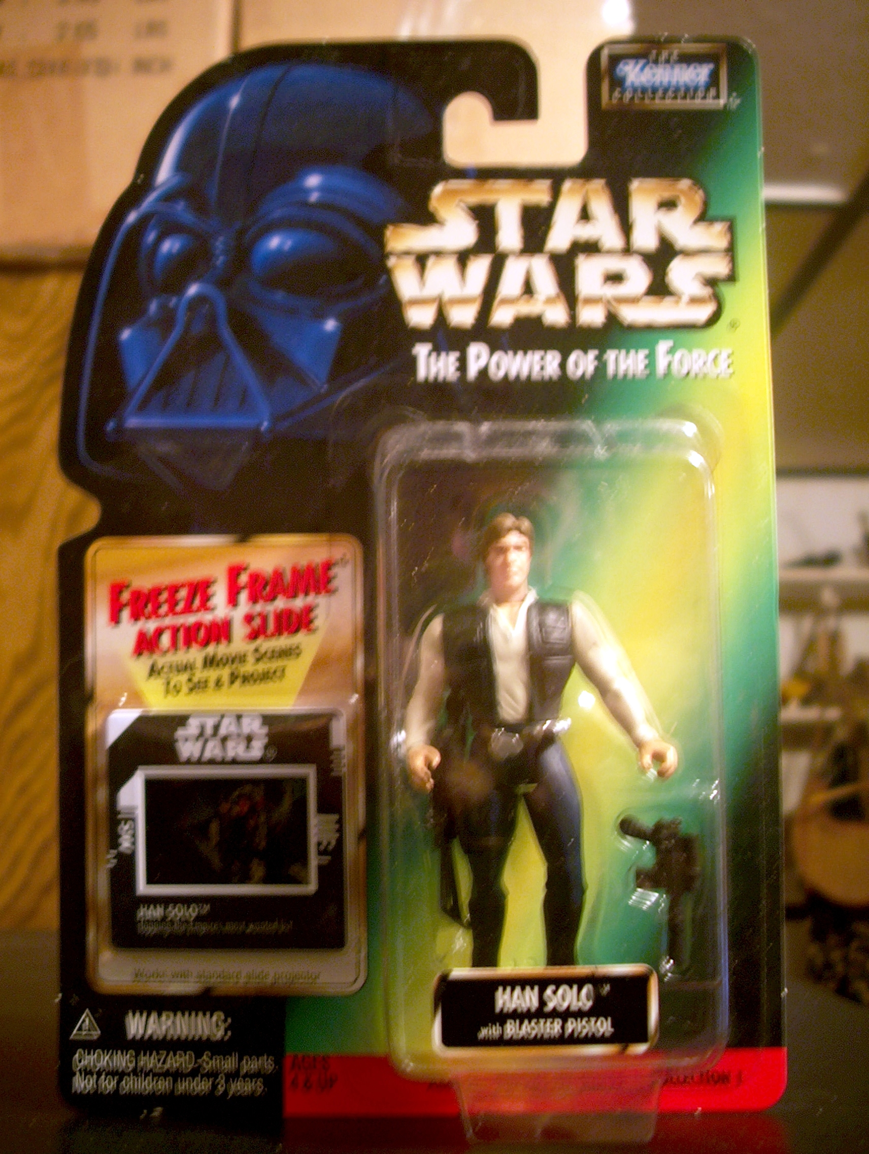 Han Solo with Blaster Pistol (.02)