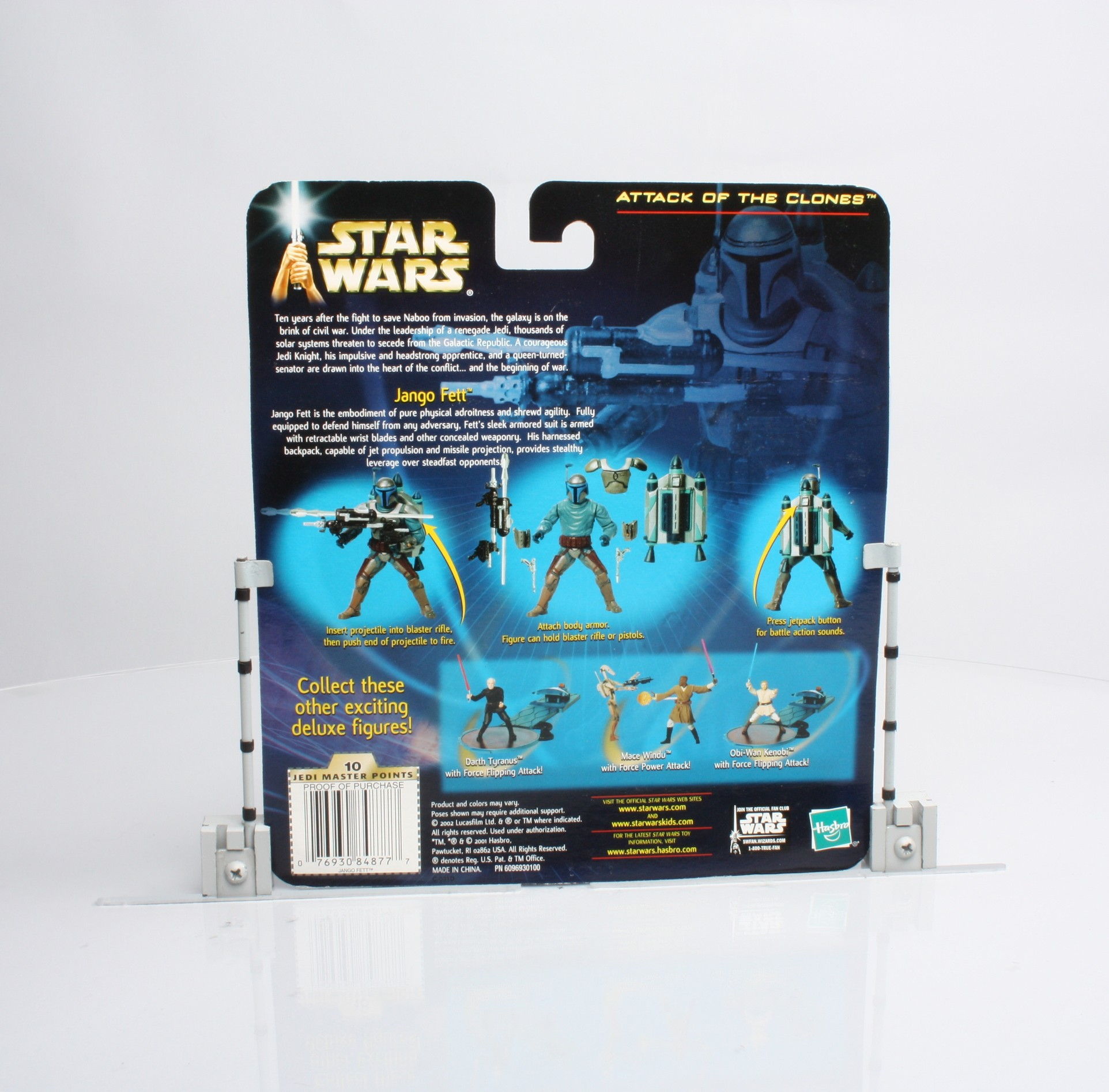 Jango Fett (with Electronic Jetpack and Snap-on Armor!)