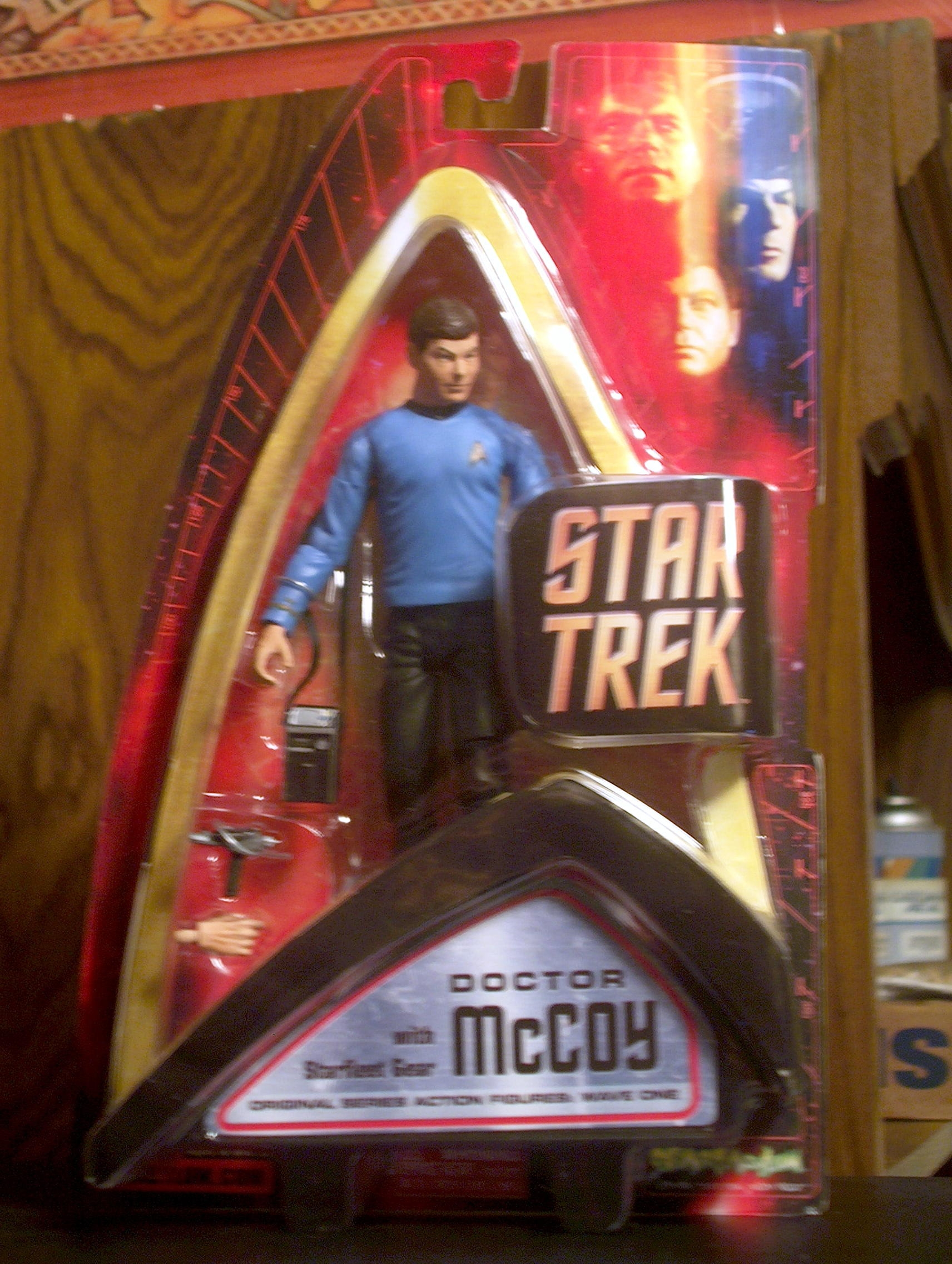 Doctor McCoy with Starfleet Gear