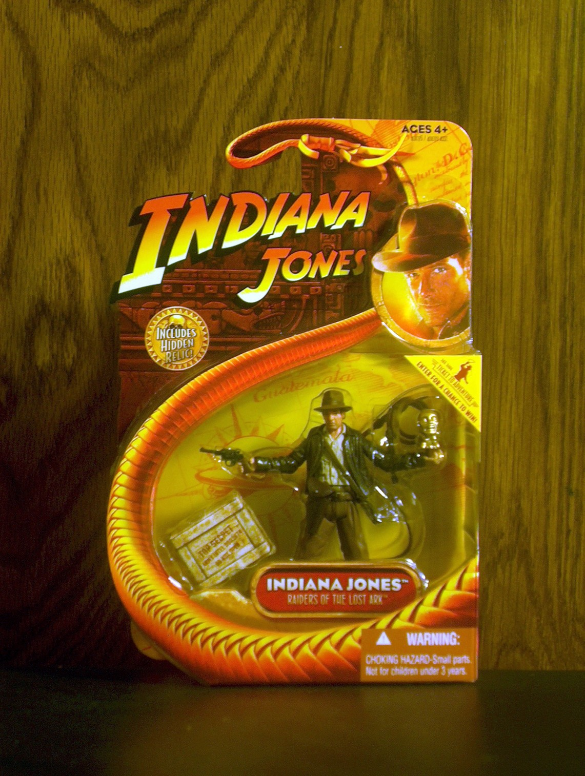 Indiana Jones (with idol)