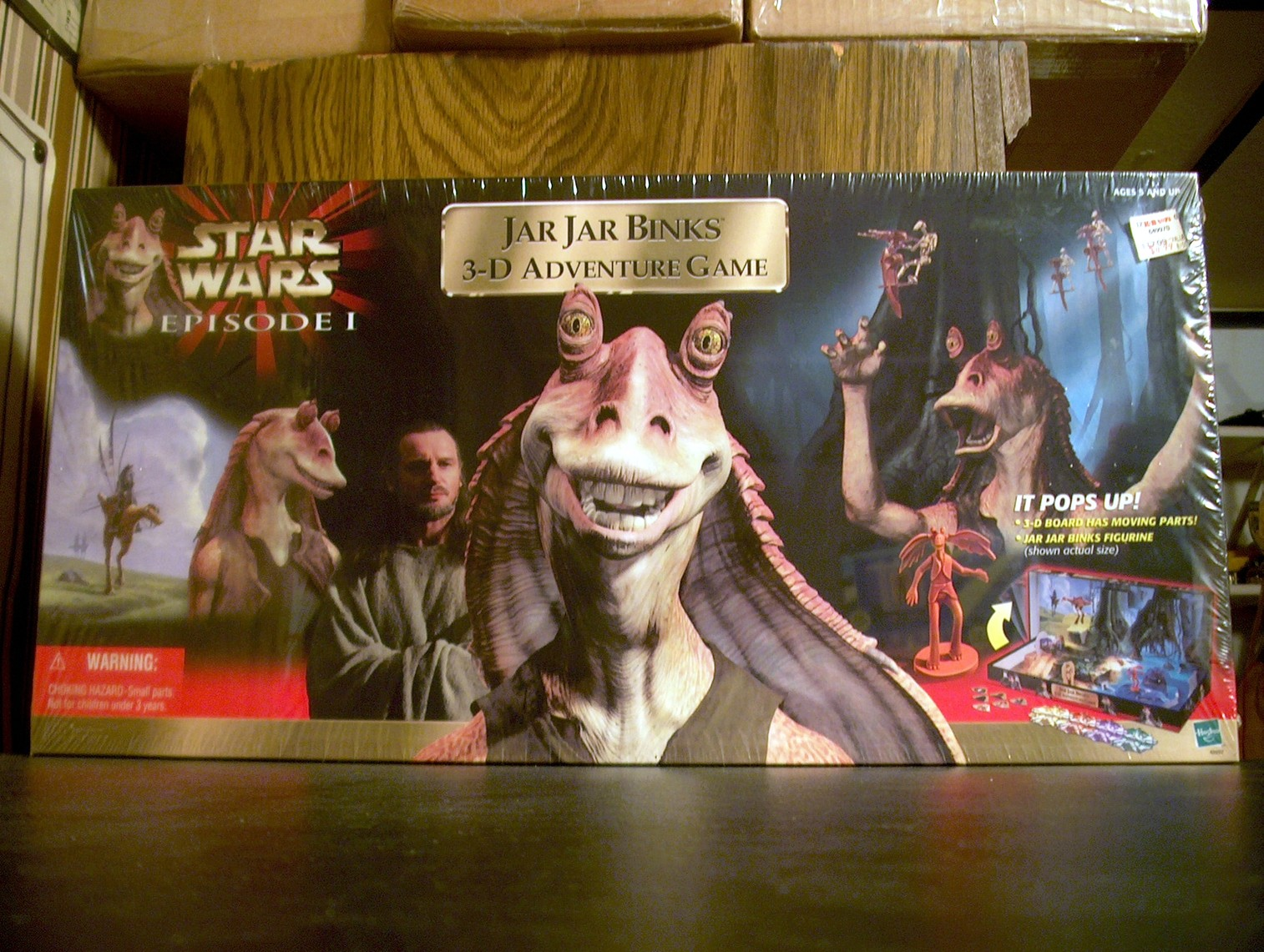 Jar Jar Binks 3-D Adventure Game