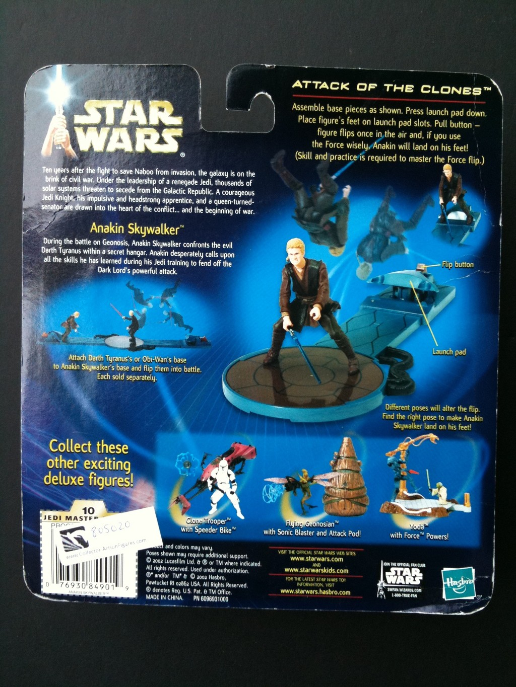 Anakin Skywalker (with Force-Flipping Attack!)