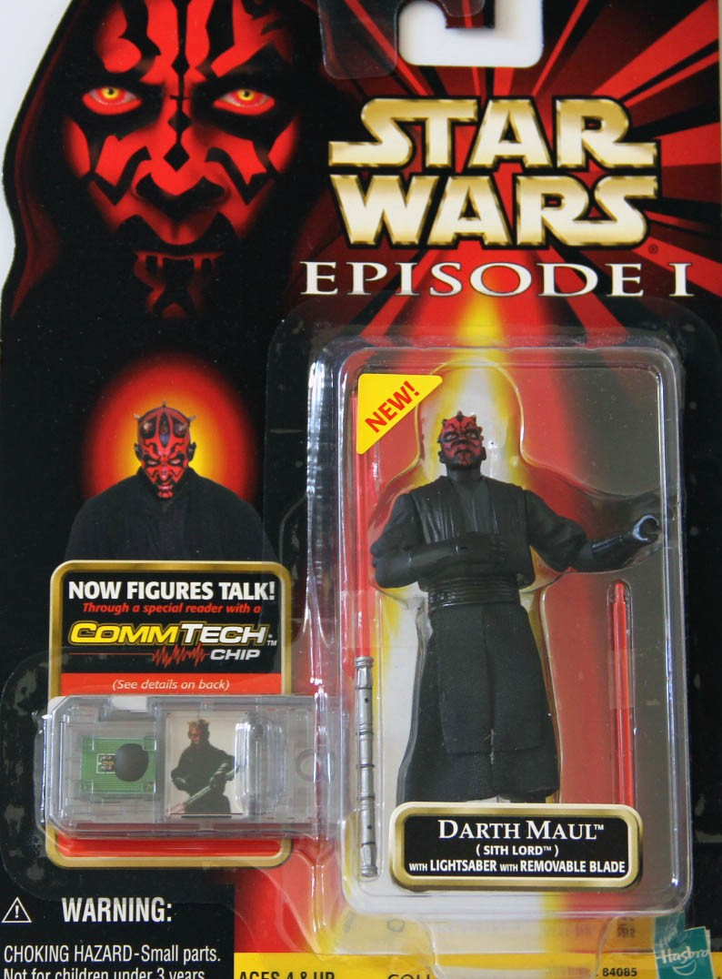 Darth Maul (Sith Lord) with Lightsaber with Removable Blade