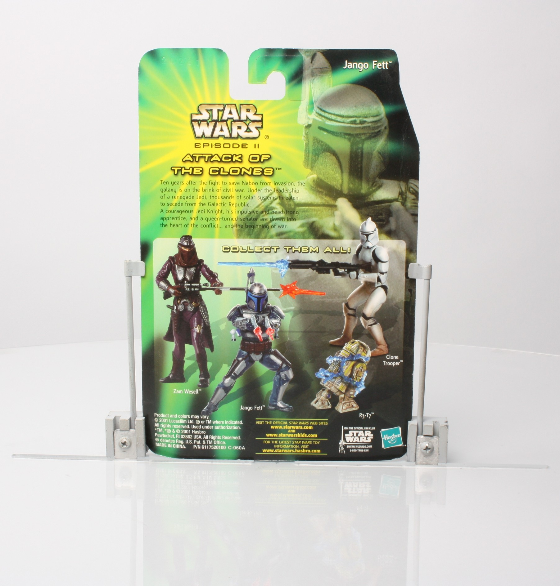 Jango Fett - Attack of the Clones - Sneak Preview