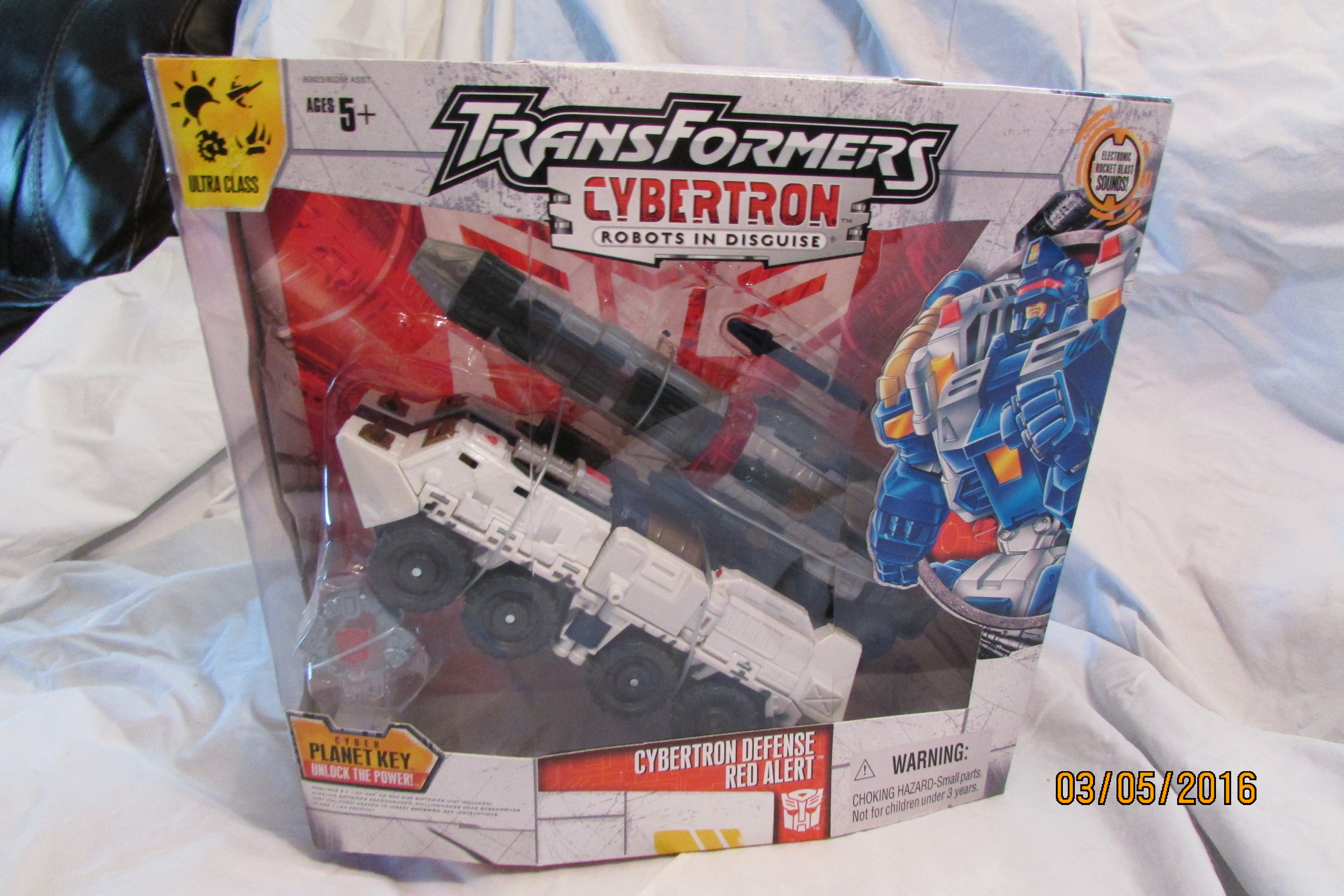 Cybertron Defense Red Alert