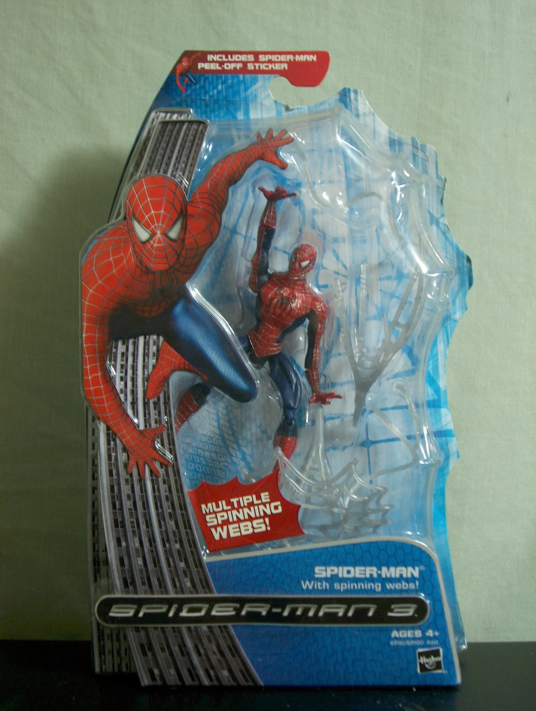 Spider-Man with Spinning Webs!
