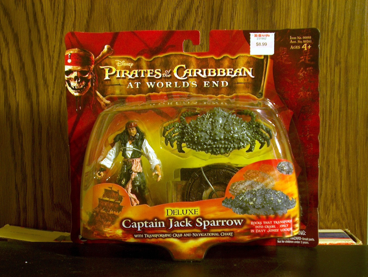 Captain Jack Sparrow (Crab & Chart)