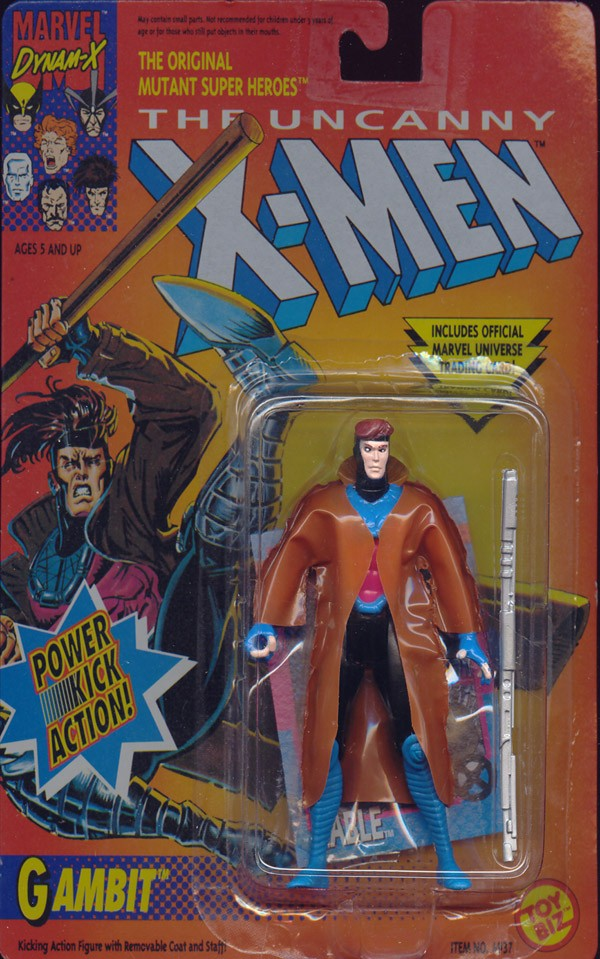 Gambit - Power Kick Action!