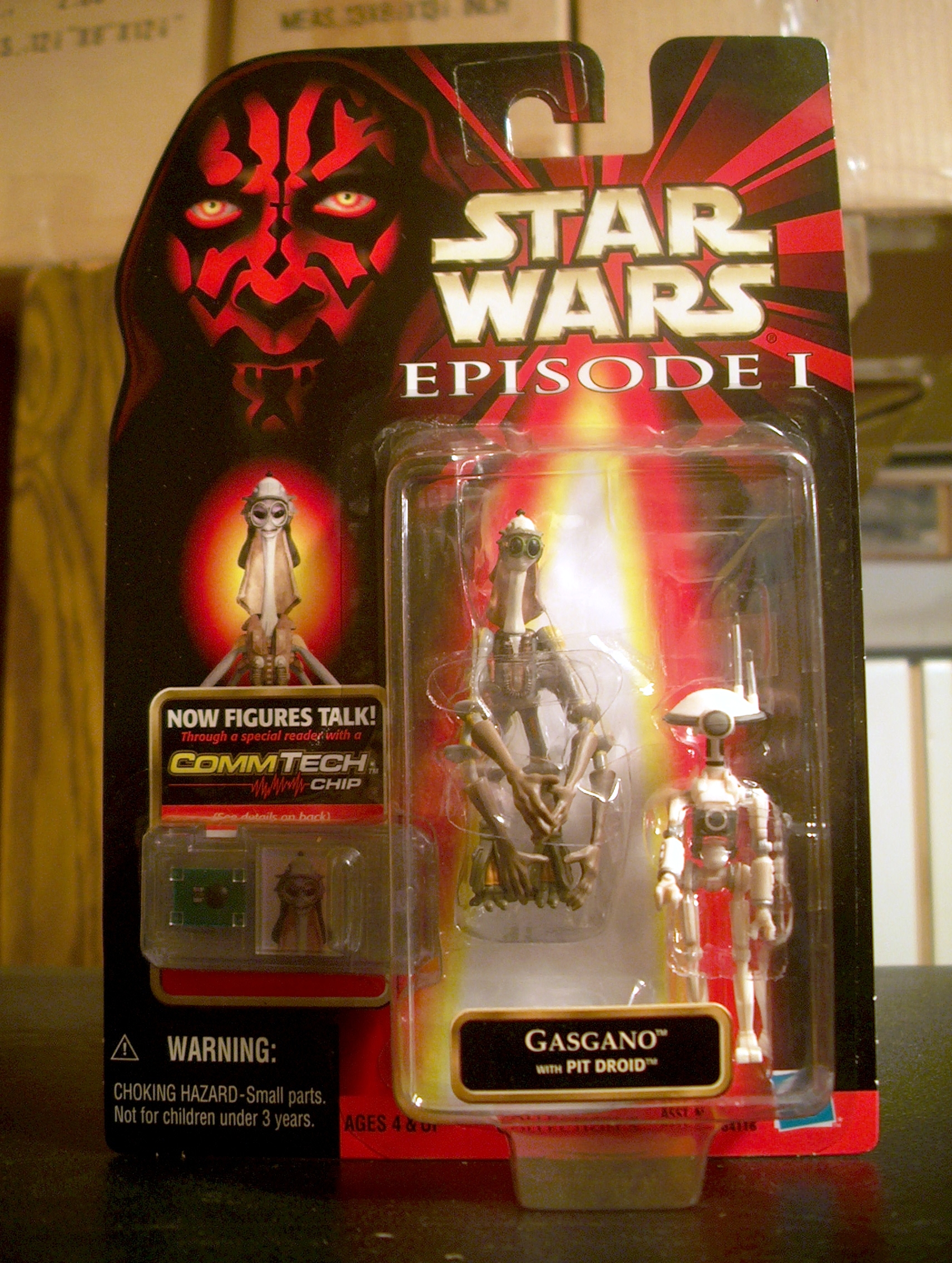 Gasgano with Pit Droid (2-Pack)