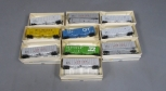 Walthers HO Scale Freight Cars: 932-3653, 932-3655, 932-3665, Etc [10]/Box