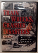 Train Wrecks Crashes and Disasters 1934-1955 Pentrex DVD Railroad true stories
