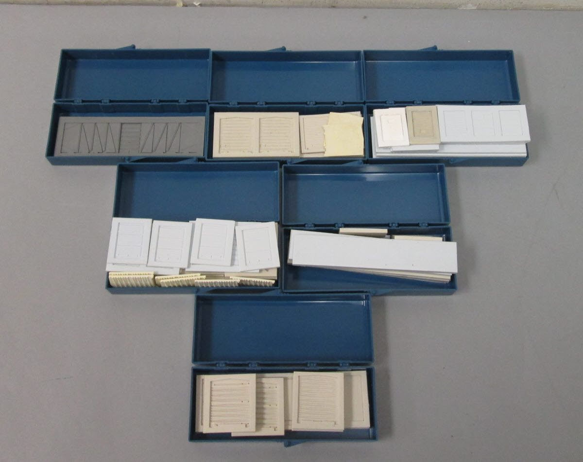 Buy HO Scale Freight Car Casting Molds & Mold Forms (6) | Trainz