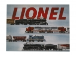 Lionel 9-42066 O Lionel Post War 1954 Catalog Cover Iron Wall Hanging NIB