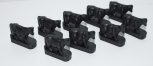 Lionel 3656-9 BLACK COWS for operating catttle car reproduction O gauge complete