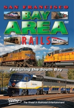 San Francisco Bay Area Rails DVD Pentrex South Bay California Train Railroad
