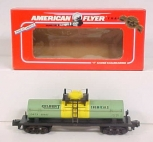 American Flyer 6-48407 S Scale Gilbert Chemicals Single Dome Tank Car LN/Box