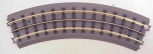 MTH 40-1002 RealTrax O31 Curved Track-Hollow Rails . 8 PIECES
