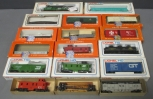 Lionel HO Scale Assorted MPC & Postwar Diesel Locomotive and Freight Cars [18]