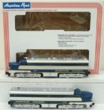 American Flyer 6-48112 S Scale Missouri Pacific Alco AB Diesel Set EX/Box