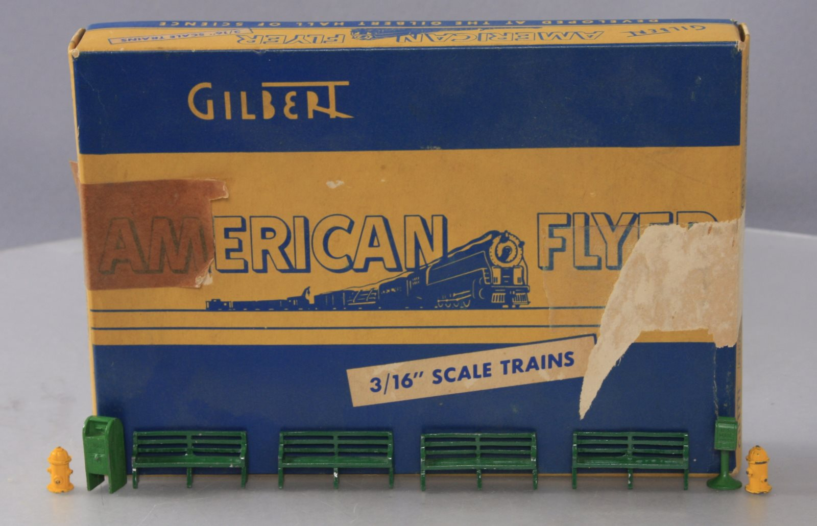 Buy American Flyer 32 City Street Equipment/Box | Trainz Auctions