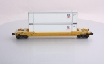 MTH 30-4214A-B-C Union Pacific Husky Stack Car